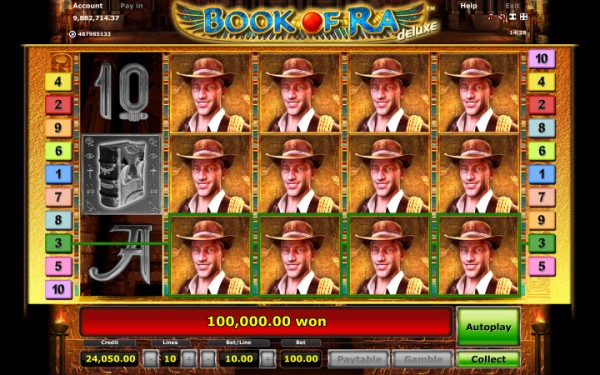slot games book of ra deluxe