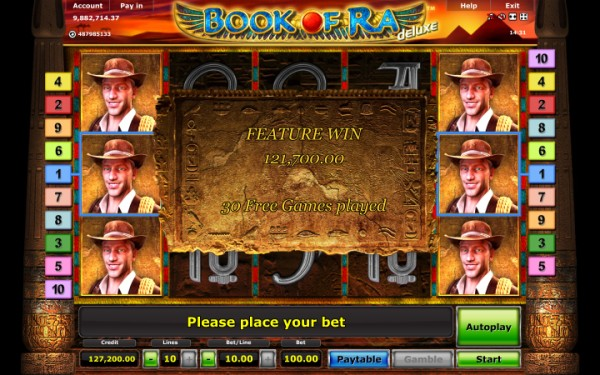 Book of Ra Casino Bonus Games
