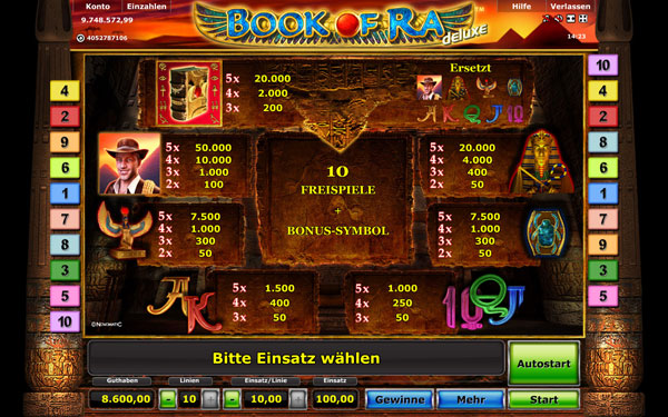 online casino game spiele book of ra