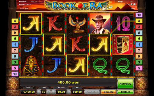 the book of ra online gratis