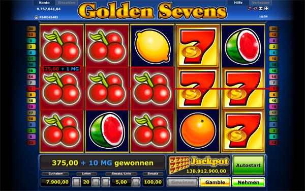 Golden Sevens Spielen