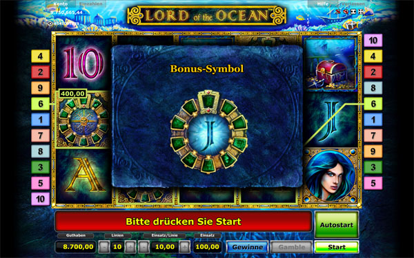 Lord of the Ocean Gratis Spiele