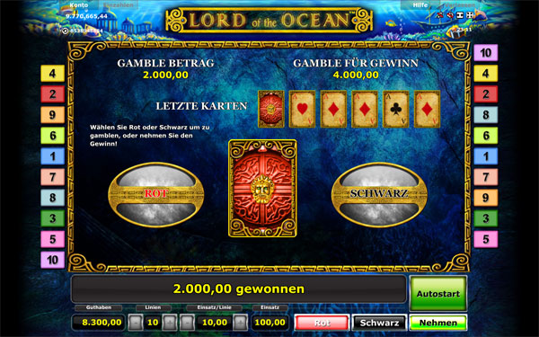 casino online lord of the ocean kostenlos