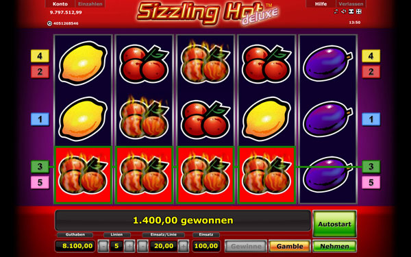 casino online mobile sizzling hot download